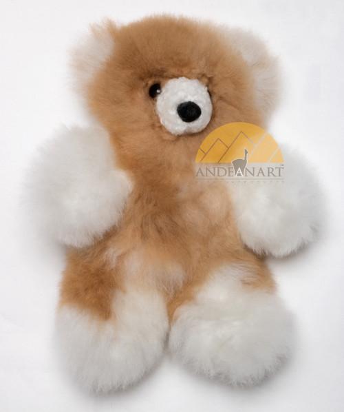 """Chico Bear"" Alpaca Teddy Bear - Mixed Color - 15582001"
