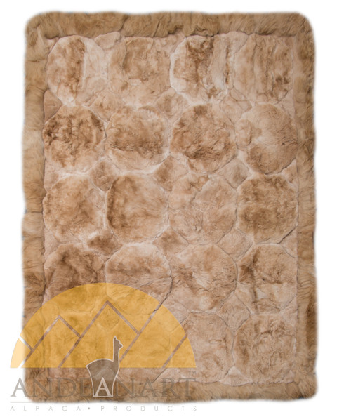 Alpaca Fur Rug - Alpaca Diamond Shape - 72161002BG