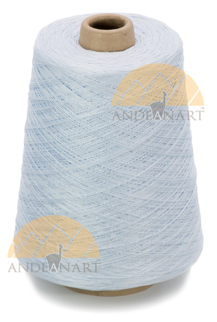 Mercerized Pima Cotton Cone - Approx. 1 kilo / 2.2 lbs - Light Blue - 16602101