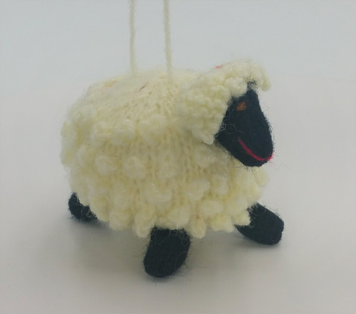 Stuffed Sheep Ornament - 15941715