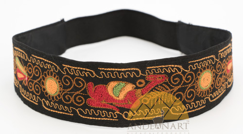 16201103 Embroidered Headband Colca Canyon Style