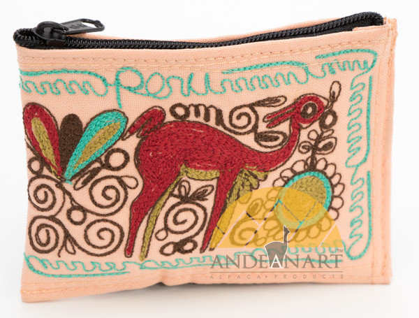 16201102 Embroidered Coin Purse Colca Canyon Style _2