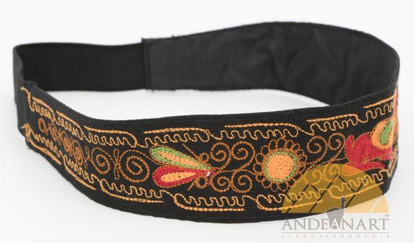 16201103 Embroidered Headband Colca Canyon Style_2