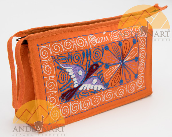 16201105 Embroidered Wristlet Purse Colca Canyon Style_2