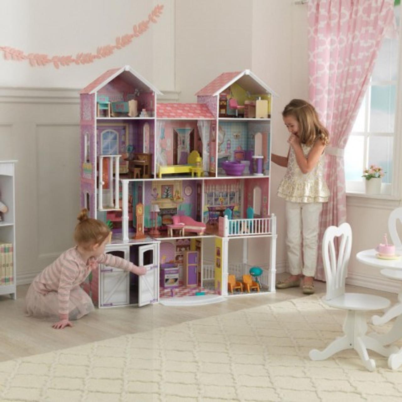 Country Estate Dollhouse Wwwfunstuffie