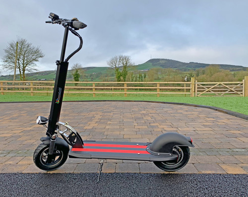 Whizza S12 Powerful and Strong Lithium Scooter - 40km/ph 48v - 30km Range (CHIC-S12)