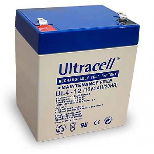 12V 4.5AH Ultracell (1-SP-12V-4AH-ULTRA-BATT)
