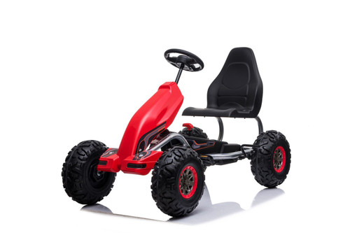 KaZoom - Large Pedal Kart Red