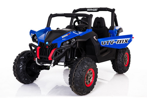 Ground Commander 24V Electric Ride on Buggy (Cobolt Blue)