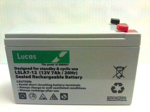 Lucas Battery - 12V 7AH