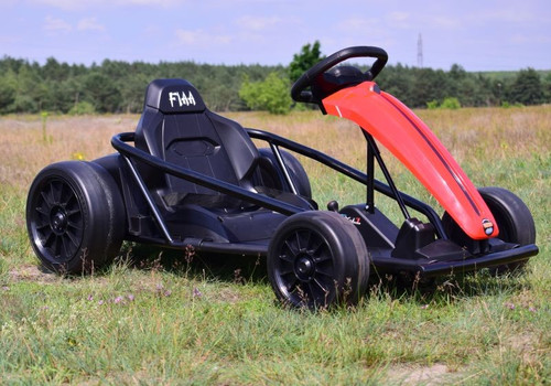 Drift 24V Electric Ride On Go Kart (Red)