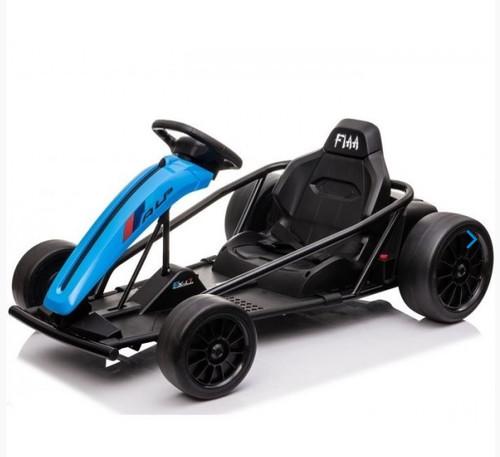 Drift 24V Electric Ride On Go Kart (Blue)