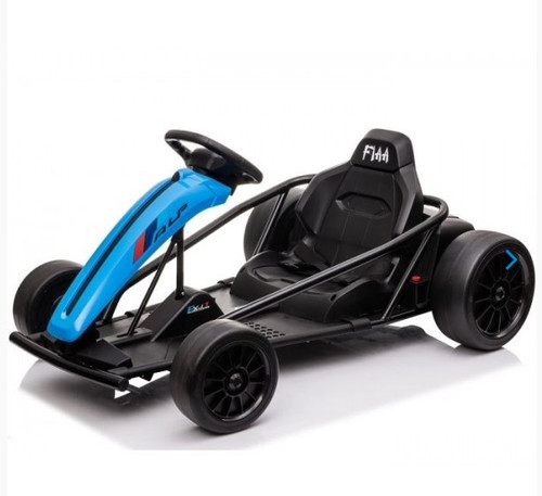Drift 24V Electric Ride On Go Kart (Blue) - available at funstuff.ie home of electric ride on and go karts in Ireland