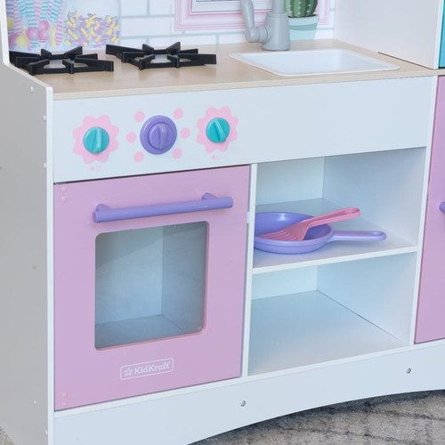 DREAMY DELIGHTS PLAY KITCHEN WITH EZ KRAFT ASSEMBLY