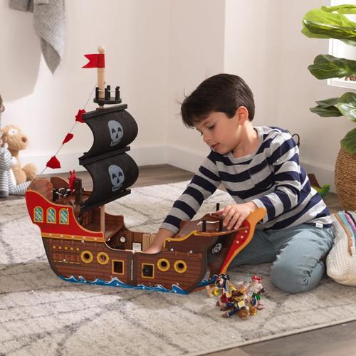 ADVENTURE BOUND PIRATE SHIP