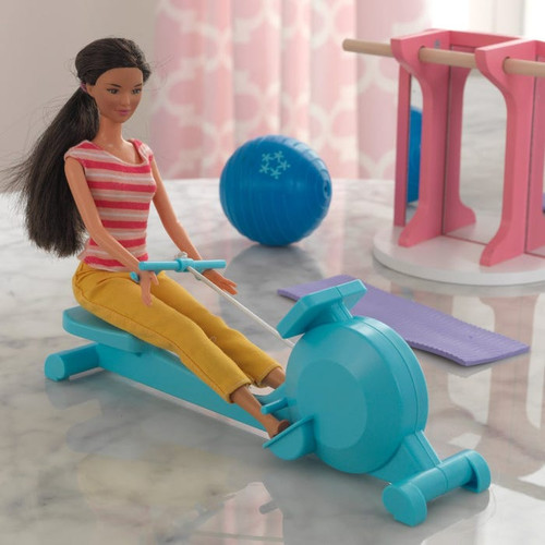 DOLLHOUSE ACCESSORY PACK HOME GYM- available at funstuff.ie home of electric ride on and go karts in Ireland