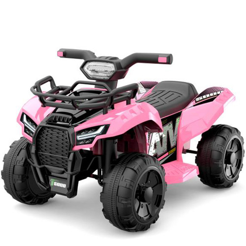 JS Champion 6V Electric Ride On Quad (Pink)