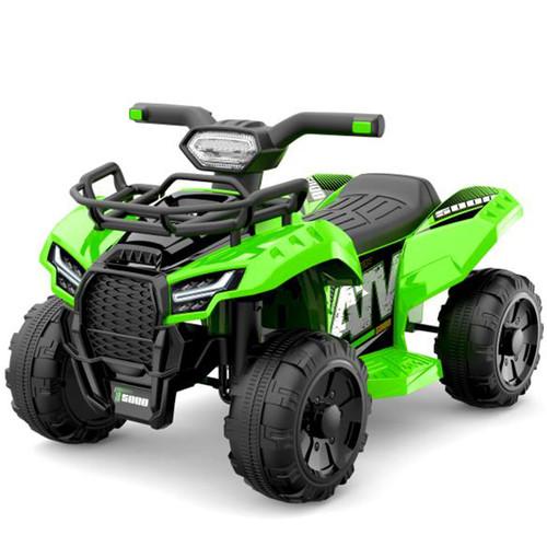 JS Champion 6V Electric Ride On Quad (Green)