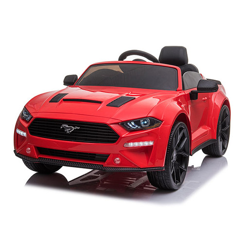 Licensed Ford Mustang SX 12V Electric Ride On Car (Red)