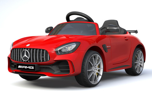 Licensed Mercedes Benz GTR 12V Electric Ride On Car (Red)