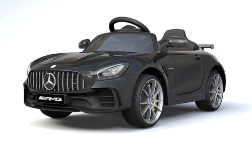 Licensed Mercedes Benz GTR 12V Electric Ride On Car (Black)