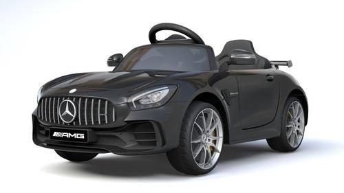 HL288-BLACK - Licensed Mercedes Benz GTR 12V Electric Ride On Car (Black) - Funstuff.ie