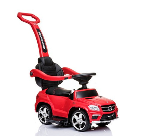 Licensed Mercedes AMG Push Bar (Red) Foot-to-Floor Car
