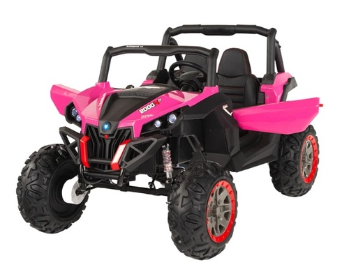 24v Ground Commander (Pink) Electric Ride On Jeep