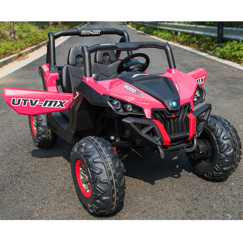 Ground Commander 24V Electric Ride on Buggy (Pink)