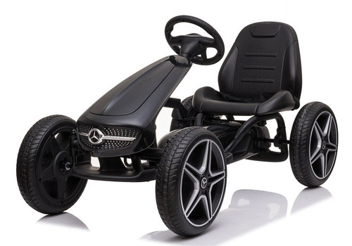 Stylish Mercedes Benz Go Kart (Black) (XMX610-BLACK) - available at funstuff.ie home of electric ride on and go karts in Ireland