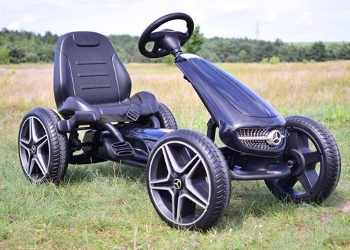 Mercedes Benz Stylish Go Kart Black - XMX610-BLACK - Funstuff.ie Ireland UK