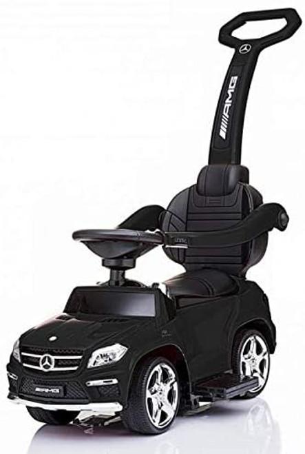 Licensed Mercedes AMG Push Bar (Black) Foot-to-Floor Car - SX1578-BLACK - www.Funstuff.ie