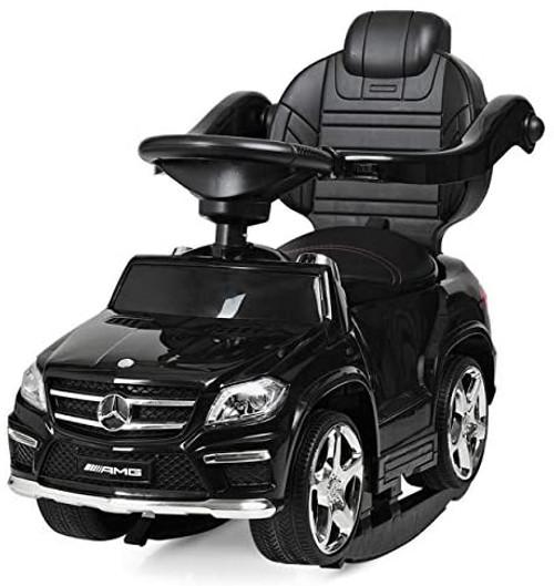 Licensed Mercedes AMG Push Bar (Black) Foot-to-Floor Car - SX1578-BLACK -www.Funstuff.ie
