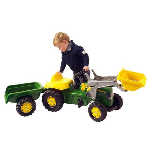 ROLLY - Kid John Deere Tractor / Loader / Trailer (S2602311)