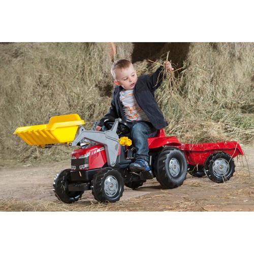 ROLLY - Kid Massey Ferguson Tractor / Loader / Trailer (S2602336)ROLLY - Kid Massey Ferguson Tractor / Loader / Trailer (S2602336)