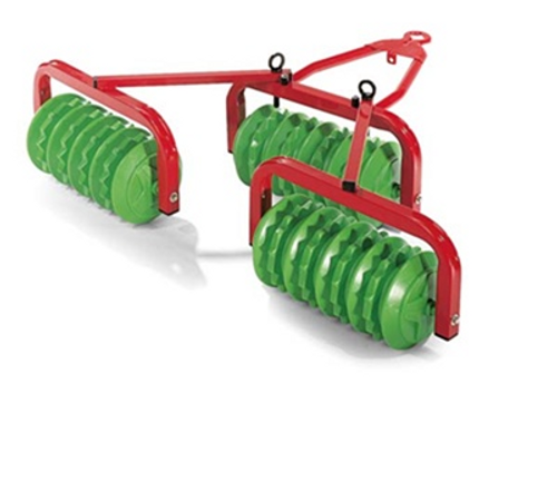 ROLLY - Disc Harrow - Red / Green (S2612381)
