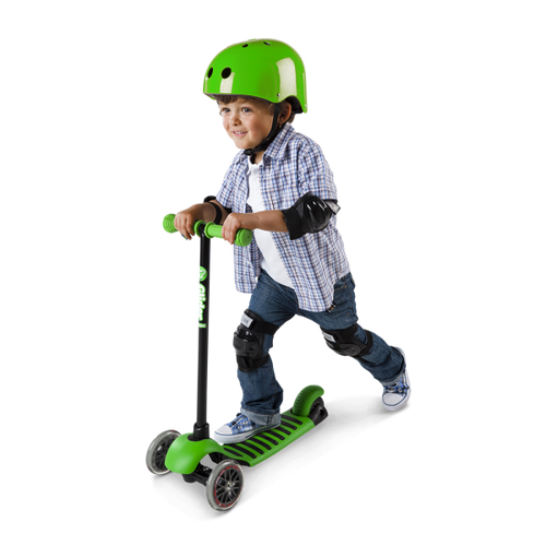 YGlider Deluxe Black/Green