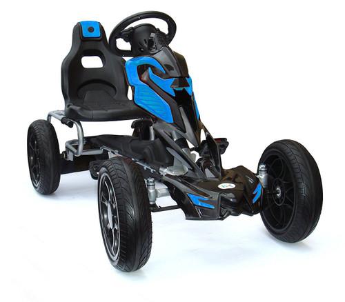 Thunder Eva Rubber Wheel Tyres Go Kart Blue - 1504-BLUE - Funstuff.ie Ireland UK