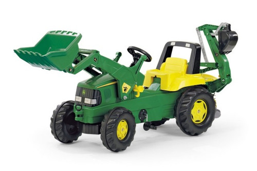 Rolly John Deere Junior Tractor Loader And Backhoe Loader Www Funstuff Ie