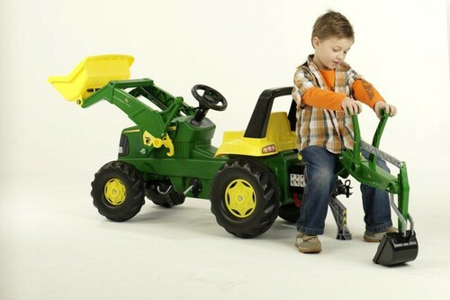ROLLY - John Deere - Junior Tractor, Loader and Backhoe Loader