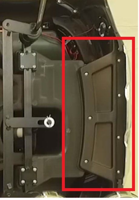 Ford Ranger Front Bumper Support  - Spare Part