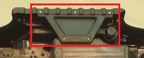Ford Ranger Side Bumper Support