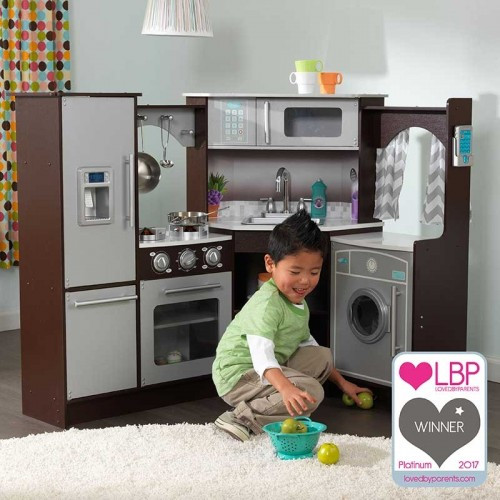 Ulitmate Corner Play Kitchen w/lights and sounds