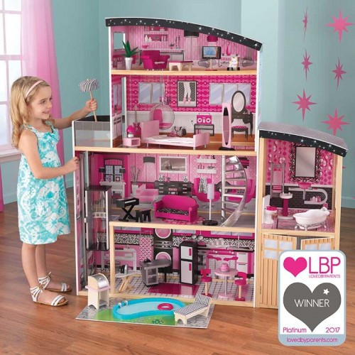 Sparkle Mansion Dollhouse Www Funstuff Ie