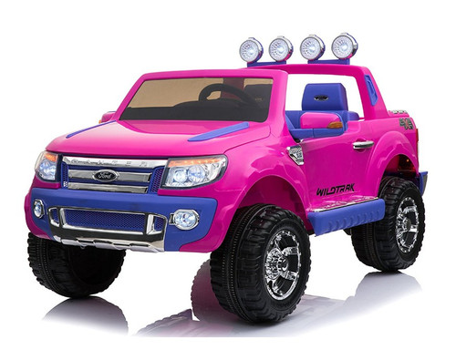 Licensed Ford Ranger Premium 12v Kids Electric Jeep - Special Pink (FORD-RANGER-PINK-UPGRADE)