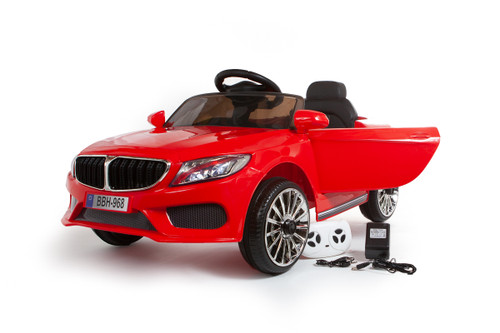 SALE - BMW Style Ride on Coupe 12V - Red