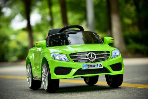 Mercedes Style Coupe 12V Electric Ride On Car (Green) - XMX815-GREEN - Funstuff.ie Ireland UK