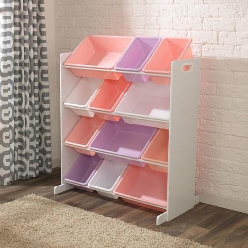 Sort It and Store It Bin Unit - White Pastel