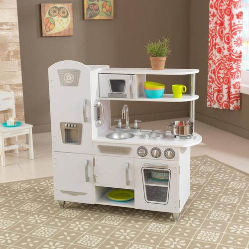 Vintage Kitchen - White