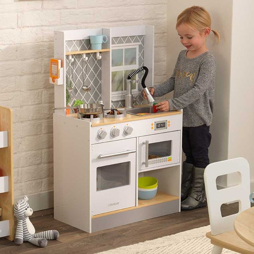 Let's Cook Wooden Play Kitchen